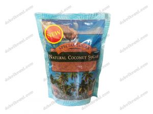 NATURAL UNREFINED COCONUT SUGAR - 300g.