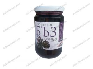 Elderberry syrup with fructose - 280g .