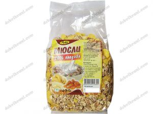 Muesli with 20% fruits - 400 grams.