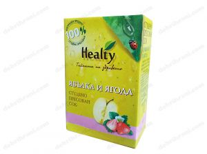 HEALTY - cold-pressed APPLE AND STRAWBERRY juice - 3L, 750mL, 300mL