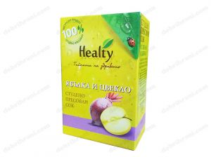HEALTY - cold-pressed APPLE AND BEEF juice - 3L, 750mL, 300mL