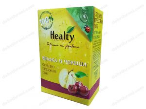 HEALTY - cold-pressed APPLE AND CHERRY juice - 3L, 750ml, 300ml