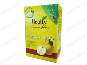 HEALTY - cold-pressed APPLE AND QUINCE juice - 3L, 750mL, 300mL