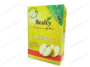 HEALTY - cold-pressed APPLE juice - 3L, 750mL, 300mL